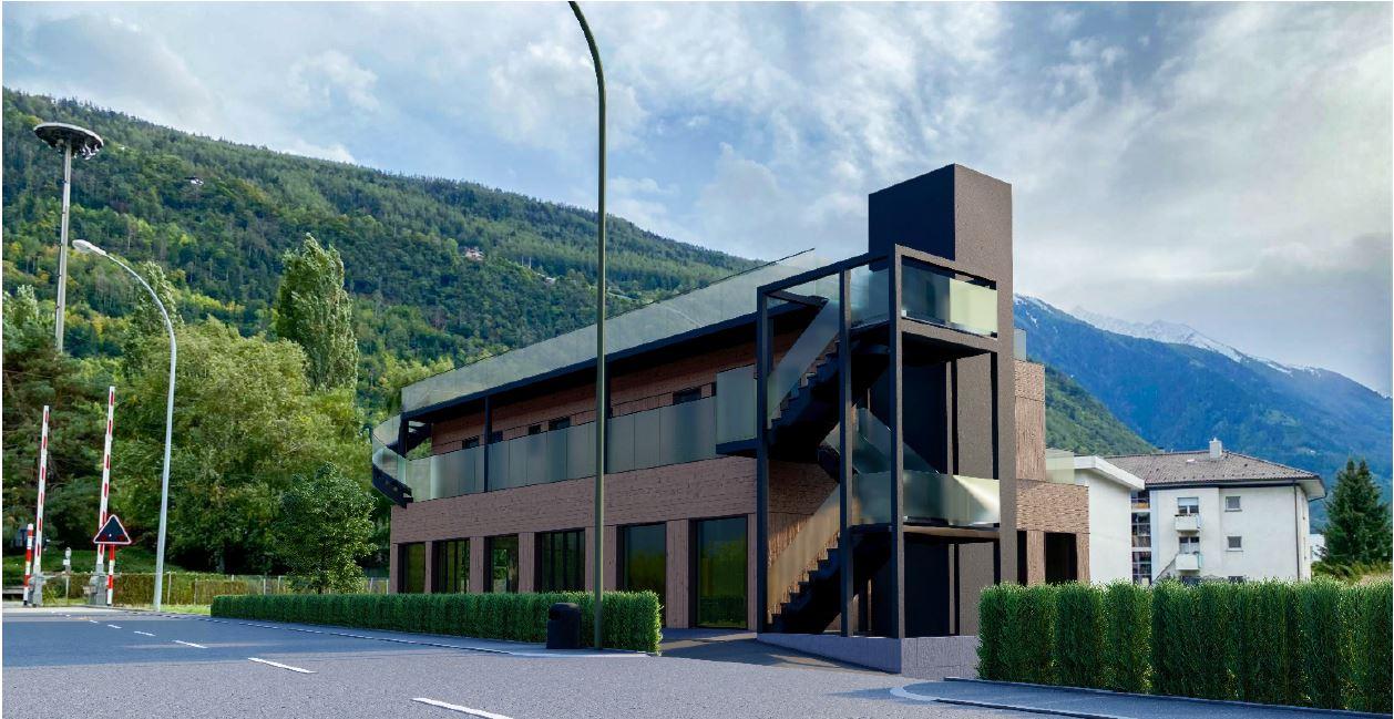 Appartements et locaux commerciaux Martigny